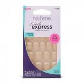 Nailene French Express Press-On Nails, Petite Beige 1 Kit