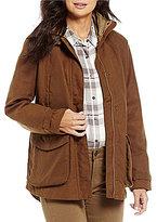 Beretta Waxed Cotton Waterproof Hidden Zip Jacket