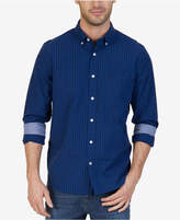 Nautica Men's Classic-Fit Gingham Long-Sleeve Shirt