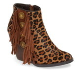 Very Volatile Cromwell Genuine Calf Hair Bootie