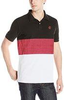 Crooks & Castles Men's Knit Short Sleeve Polo-Carnegie