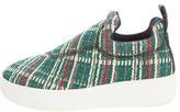 Celine Tweed Platform Sneakers