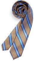 Michael Kors Stripe Silk Tie (Big Boys)