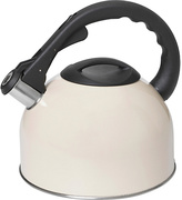 Living HOME Translucent Cream 2 Litre Stove Top Kettle