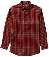 Roundtree & Yorke Gold Label Big & Tall Non-Iron Plaid Suiting Sportshirt