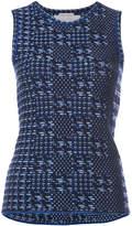 Oscar de la Renta knitted tank top
