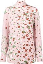Valentino floral print blouse