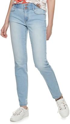 Apt. 9 Women's Tummy Control Curvy Midrise Straight-Leg Jeans