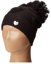 Betsey Johnson Open Your Heart Cuff Hat