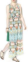 Freeway Aztec Maxi Dress