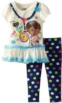Disney Girls 2-6X Toddler Doc McStuffins Two-Piece Pullover and Pant