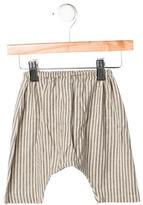 Caramel Baby & Child Boys' Linen-Blend Striped Pants