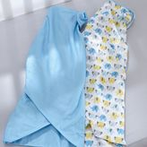 BreathableBaby Breathable Baby Elephant 2-pk. Swaddle Blankets - Baby Boy