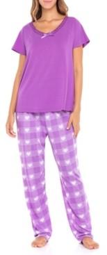 Sporto Women's S-Lrs103 Sleepwear Set