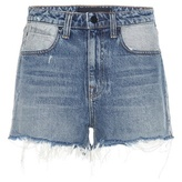 Alexander Wang Bite High-rise Denim Shorts