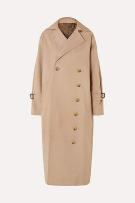 Totême Pisa Cotton-blend Trench Coat - Beige