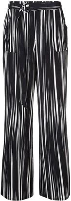 Nicole Miller wide leg trousers