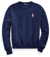 Thumbnail for your product : Ralph Lauren Pink Pony Fleece Crewneck Sweatshirt