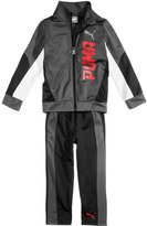 Puma 2-Pc. Graphic-Print Jacket & Pants Set, Toddler & Little Boys (2T-7)