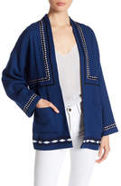 Dolce Vita Keegan Embroidered Knit Jacket