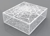 2Modern Arktura - Nebula Square 32 Coffee Table