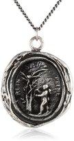 "Pyrrha talisman"" Sterling Silver Challenge Necklace"