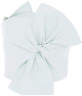 DELPOZO Cotton Poplin Bow Top