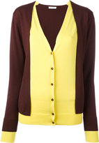 J.W.Anderson layered cardigan - women - Merino - S