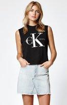 Calvin Klein Reissue Logo Muscle Tank Top