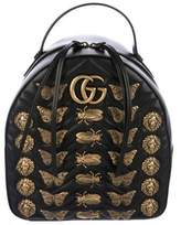 Gucci GG Marmont Animal Studs Backpack