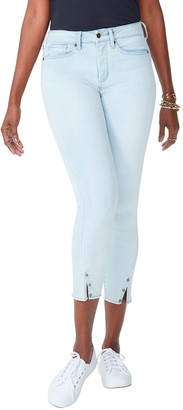 NYDJ Ami Skinny Ankle Jeans with Twisted Side Seams