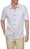 Nat Nast Men's 'Union' Regular Fit Short Sleeve Silk Sport Shirt