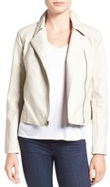 Cupcakes And Cashmere 'Joslyn' Faux Leather Moto Jacket