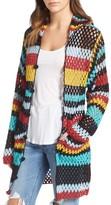 Women's Standard Form Crochet Cover-Up Hoodie