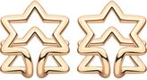 Coops London star squeeze on earrings