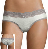 JCPenney Flirtitude Cotton Hipster Panty