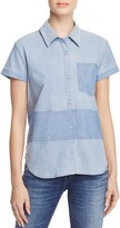 J Brand Wylie Short-Sleeve Shirt