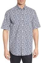 Paul & Shark Regular Fit Floral Sport Shirt