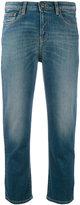 Armani Jeans cropped jeans - women - Cotton/Spandex/Elastane - 28