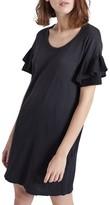 Current/Elliott Women's The Ruffle Roadie T-Shirt Dress