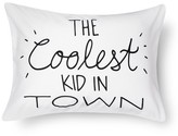 Pillowfort Coolest Kids in Town Pillowcase (Standard) White - Pillowfort