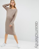 Asos Midi Dress in Knit