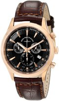 Zeno Men's 6662-5030PGR-F1 Gentlemen Analog Display Quartz Brown Watch