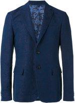 Etro jacquard blazer - men - Cotton/Linen/Flax/Cupro/Viscose - 48