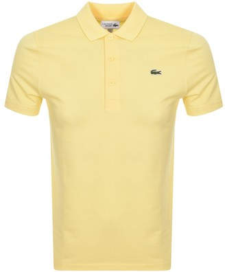 Lacoste Sport Polo T Shirt Yellow