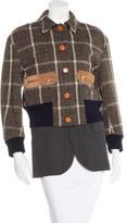 Kolor Layered Wool Coat
