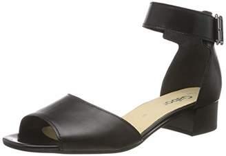 Gabor Shoes Women's Fashion Ankle Strap Sandals, Black (Black 27), (42 EU)
