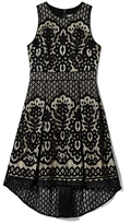 Vince Camuto Patterned Lace Dress