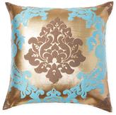Ann Gish Metallic Damask Pillow