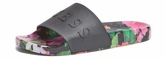 GUESS Women's Logo Rubber Slides Sandal